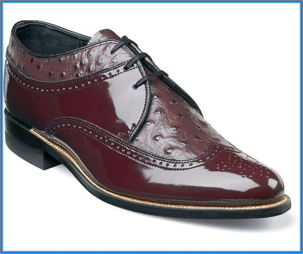 Stacy Adams Shoes Armstrong Wingtip Shoes