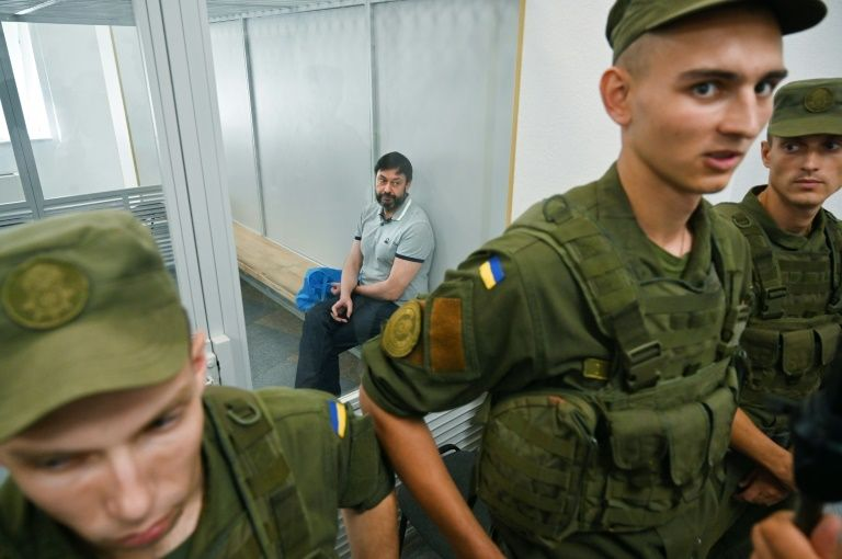 A Ukrainian court releases a Russian journalist accused of high treason