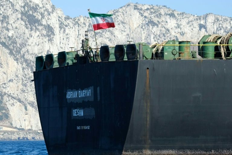 Iran says it has already sold the freighter oil seized in Gibraltar