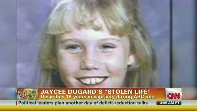 Jaycee Dugard opens up after 18-year kidnapping ordeal