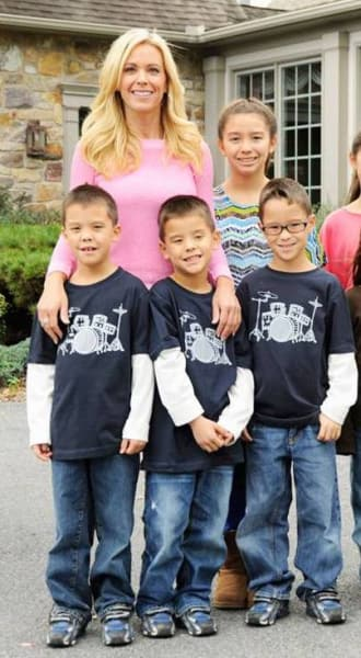 Kate Gosselin says her kids are struggling