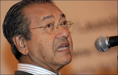 Malaysia's Mahathir accuses government of bribing ruling party members to defeat him