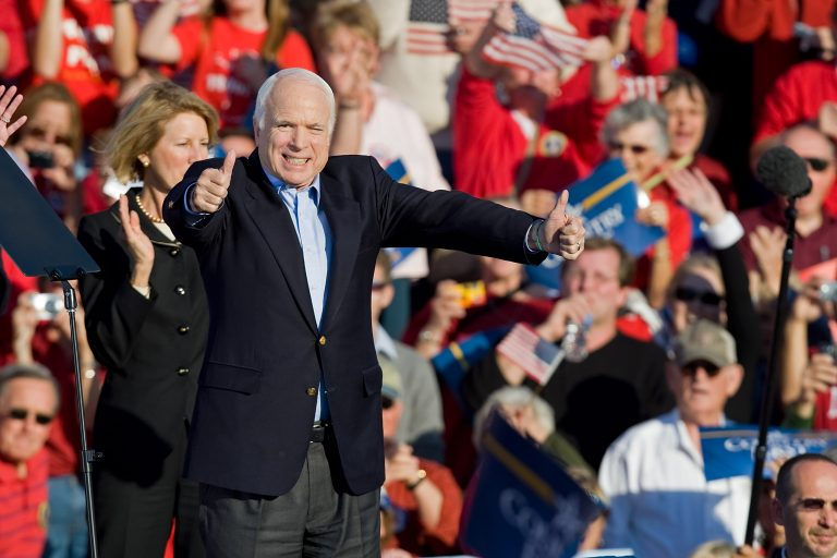McCain Leans Toward Compromise on Offshore Drilling