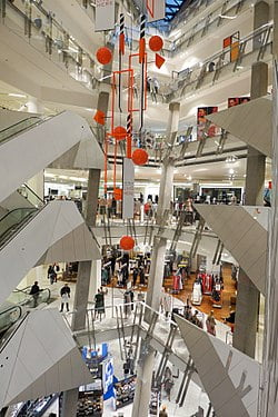 Myer, Megamart weigh on Coles