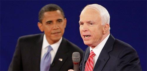 Obama, McCain seek common touch