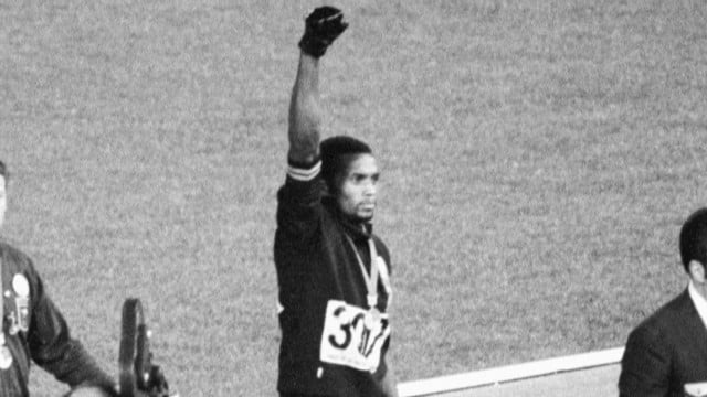 Olympic sprinter remembered for role in silent protest