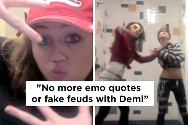OMG! Miley Cyrus quits Twitter via YouTube!