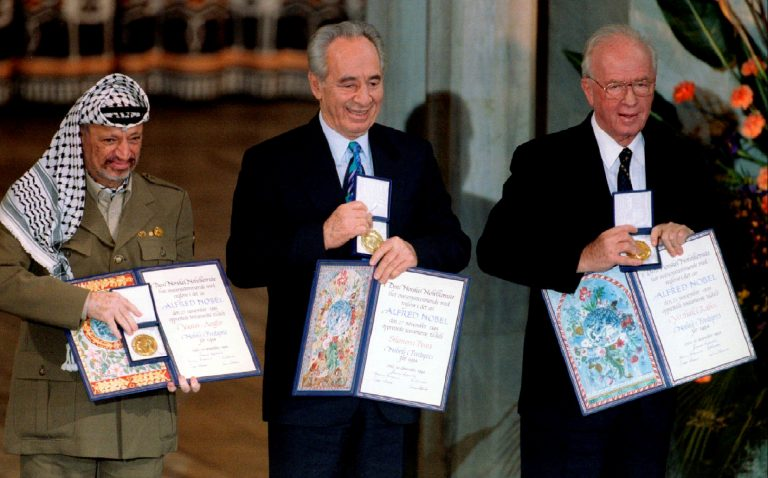 Peace Prize Awarded Based on Achievement or Aspirations