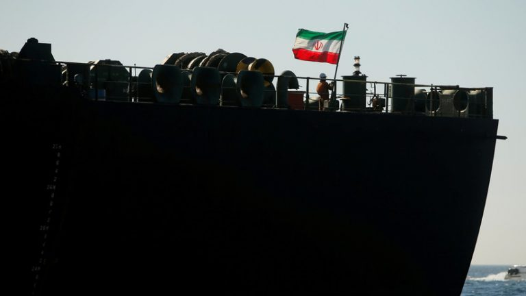 Pompeo regrets the release of the Iranian ship detained in Gibraltar