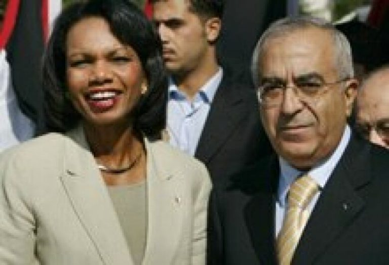 Rice Arrives in Israel for Olmert and Abbas Talks