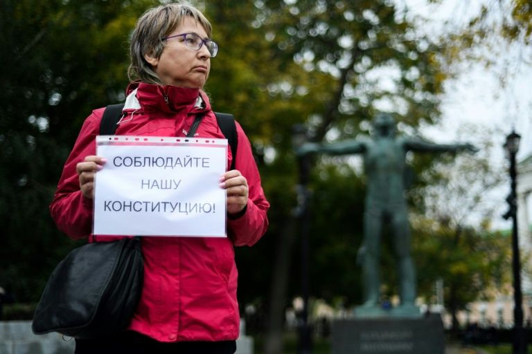 Russian opposition protests in Moscow to demand free elections