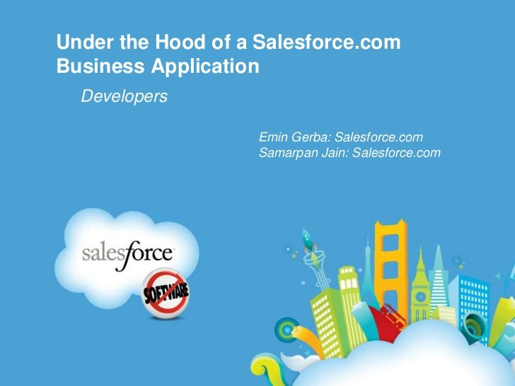 Salesforce.com extends its application platform with Force.com