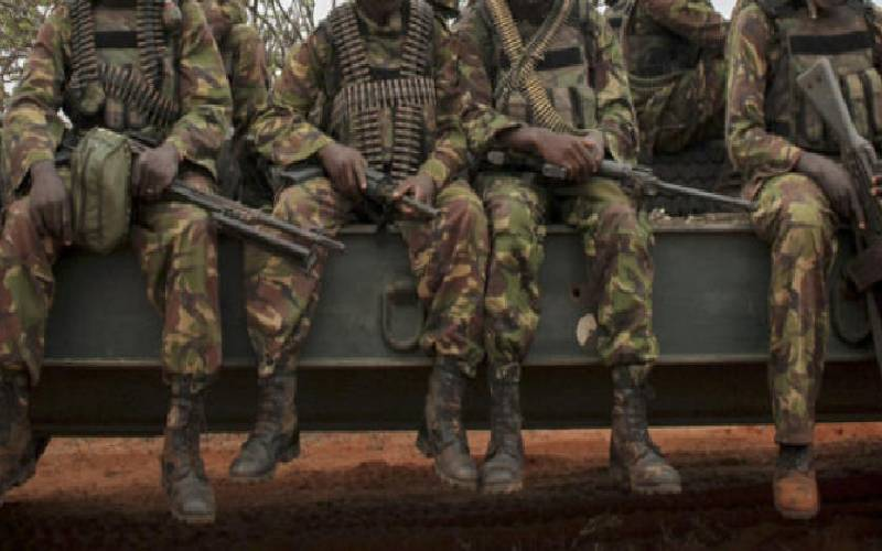 Soldiers came to 'barbaric' end