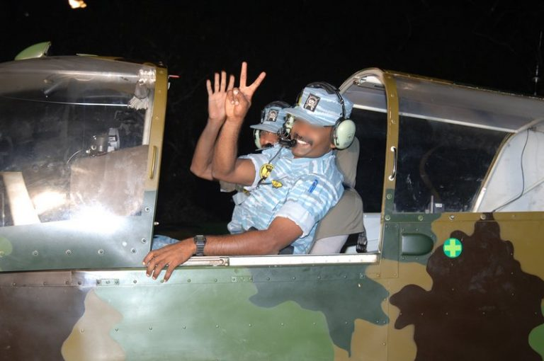 Sri Lankan air force launches airstrikes on Tamil Tiger positions in north, military says