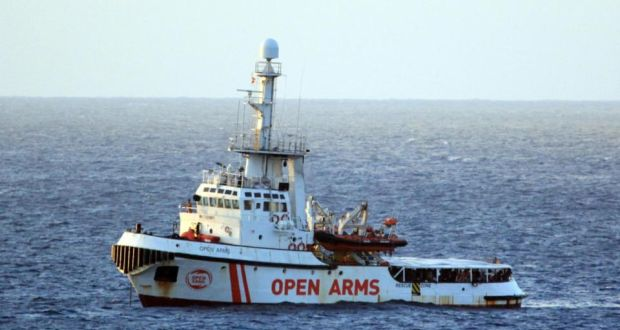 The Agrigento Prosecutor orders the kidnapping of the 'Open Arms' and the landing of migrants