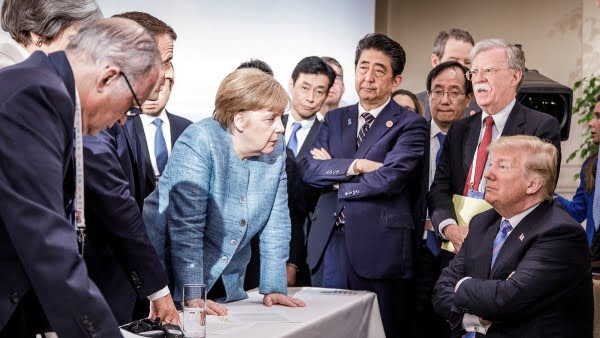"The EU opposes reintegrating Russia into the G7 because ""it will be a sign of weakness"""
