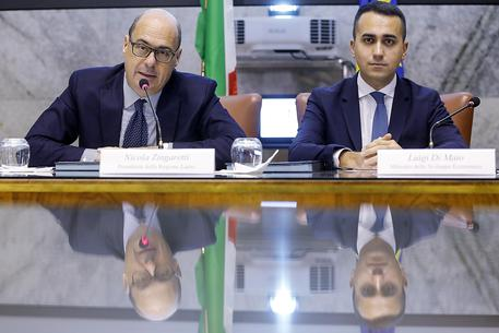 """The M5S and the PD meet again this Wednesday in a """"positive"""" climate to reach an agreement"""