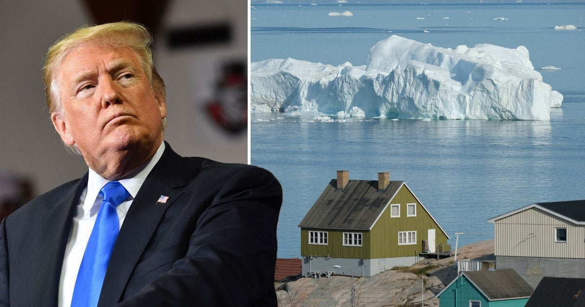 """The Prime Minister of Denmark responds to Trump's interest: """"Greenland is not for sale"""""""