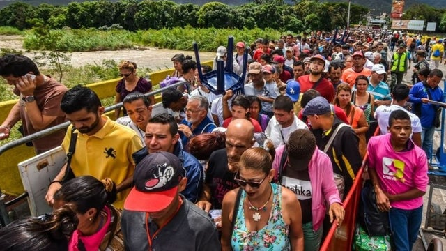 The UN asks the international community for help in dealing with the refugee crisis in Venezuela