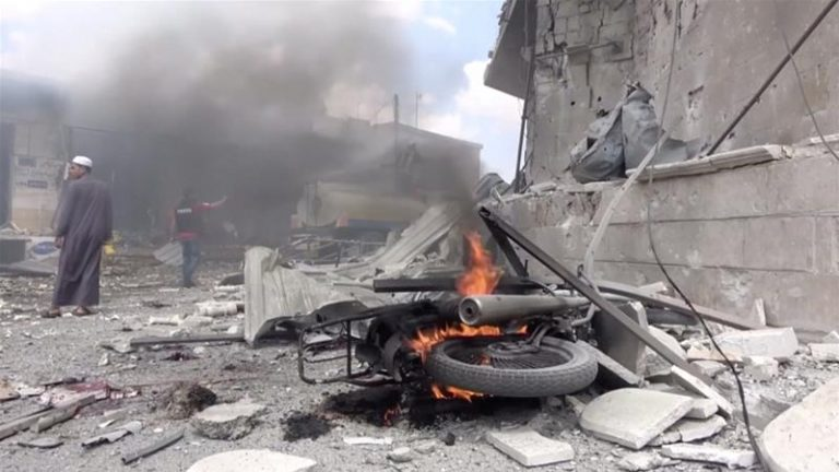 The UN denounces that the offensive in northwestern Syria already leaves more than 500 civilians dead