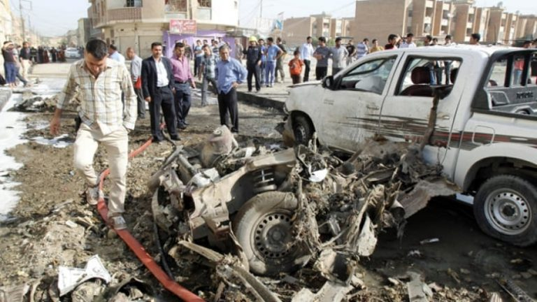 U.S. excluded car, suicide bombs from Iraq murder toll