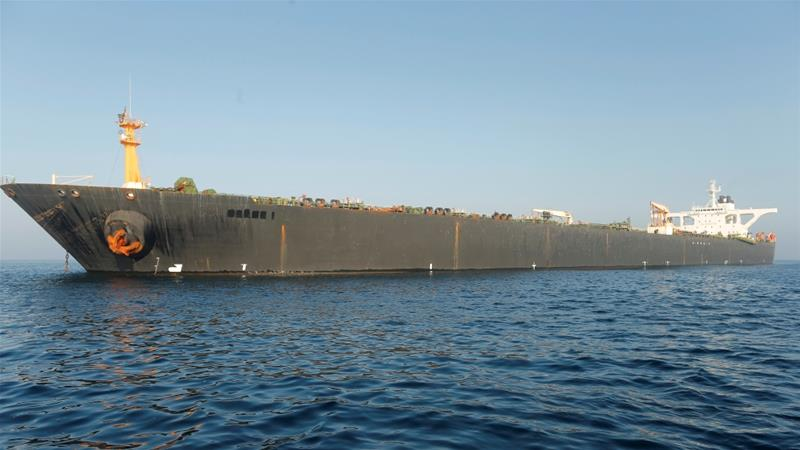 US issues an order to seize the 'Grace 1' tanker