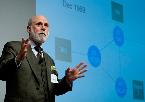 Vint Cerf calls for Internet speed limits