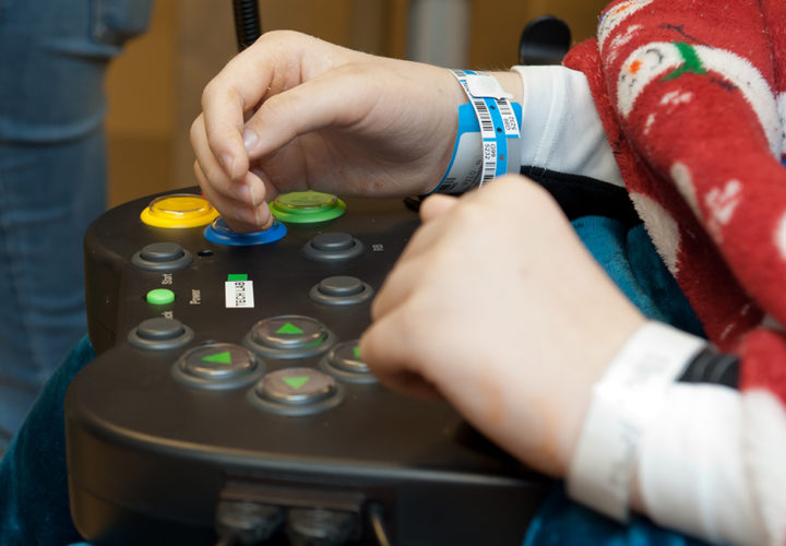 Vocal joystick gives computer control to those with disabled hands