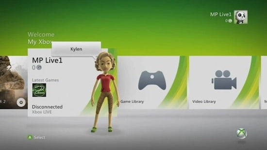 Xbox 360 user shows how to access leaked fall Live dashboard
