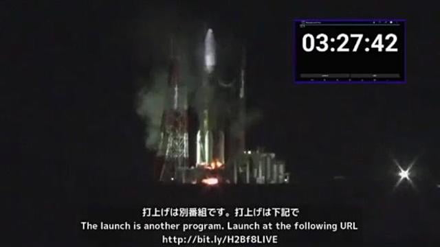 A fire suspends the launch of a Japanese cargo ship to the International Space Station