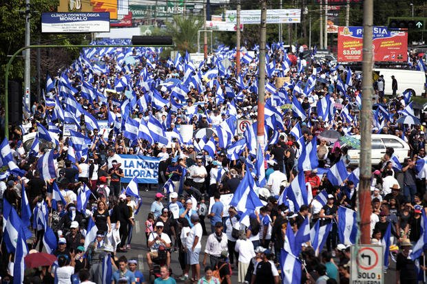 A Mother's Day Protest in Nicaragua Ends With at Least 15 Dead