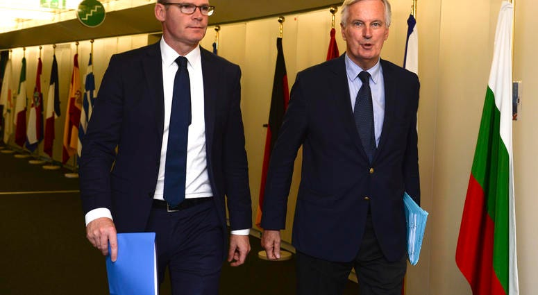 A new meeting between Barclay and Barnier concludes without progress to unblock Brexit
