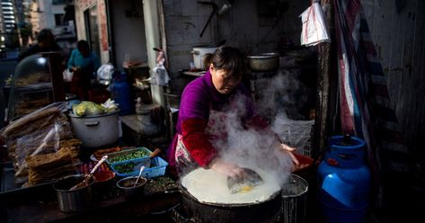 As a Chinese Street Snack Gets Trendy, Some Say Enough's Enough