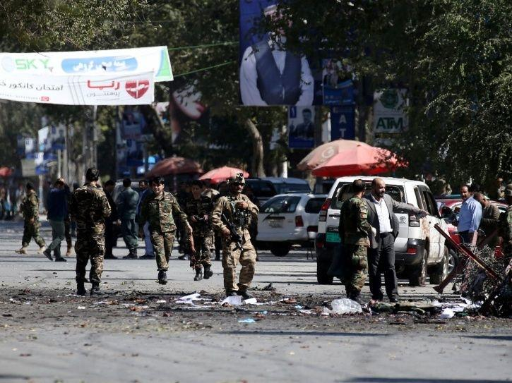 At least 24 killed by an attack near an electoral act of the Afghan president