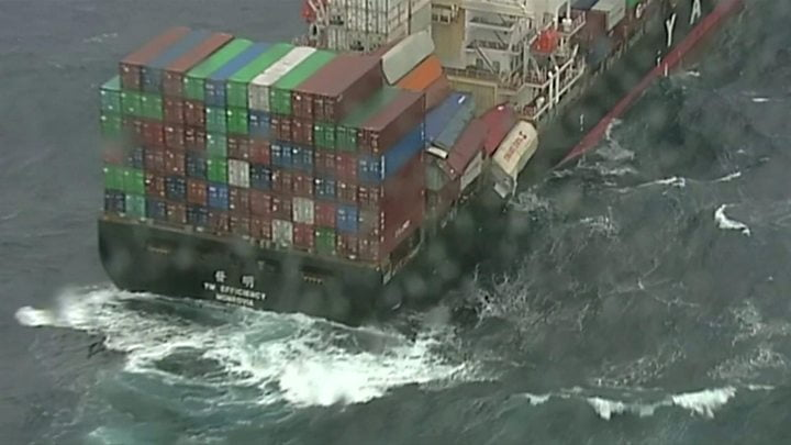 Australia ship loses 83 containers off New South Wales