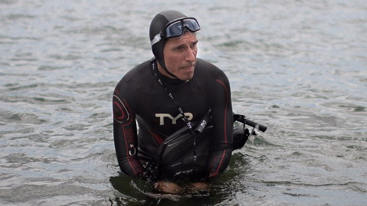 Ben Lecomte's bid to be the first to swim the Pacific Ocean