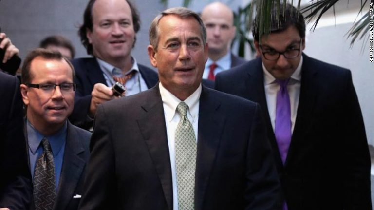 Boehner: 'There is no Republican Party, there is a Trump Party'