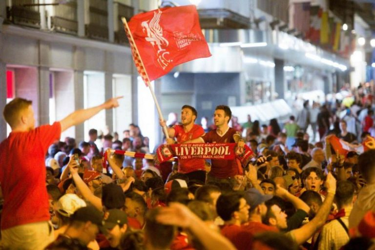 Champions League final: Madrid's Liverpool supporters