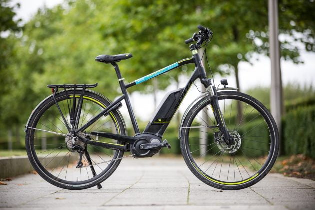 Electric bike offers green urban commuting option