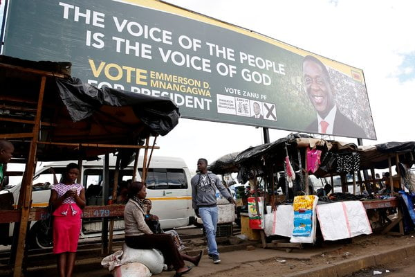 For First Time Since Mugabe's Ouster, Zimbabwe to Hold Elections in July