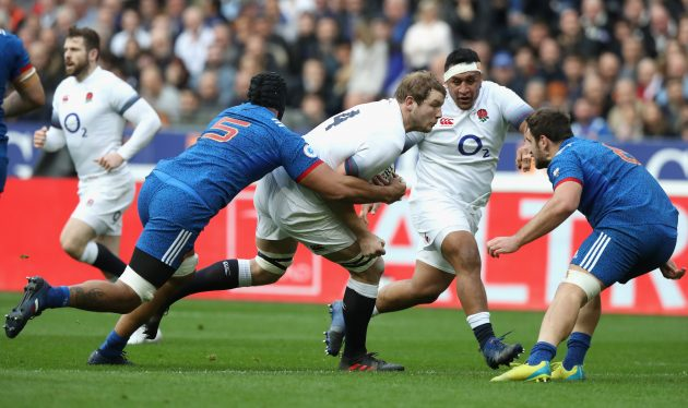 France down England 18-17 in Six Nations
