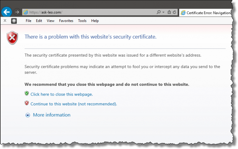 Google making SSL changes, other sites are quiet