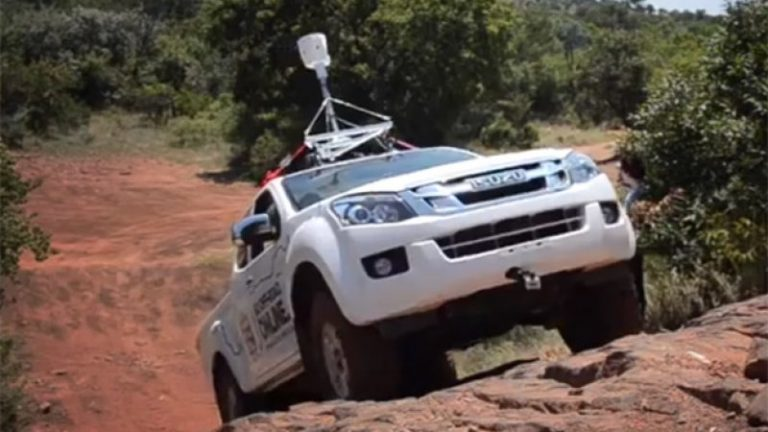 Google Street View goes off-roading