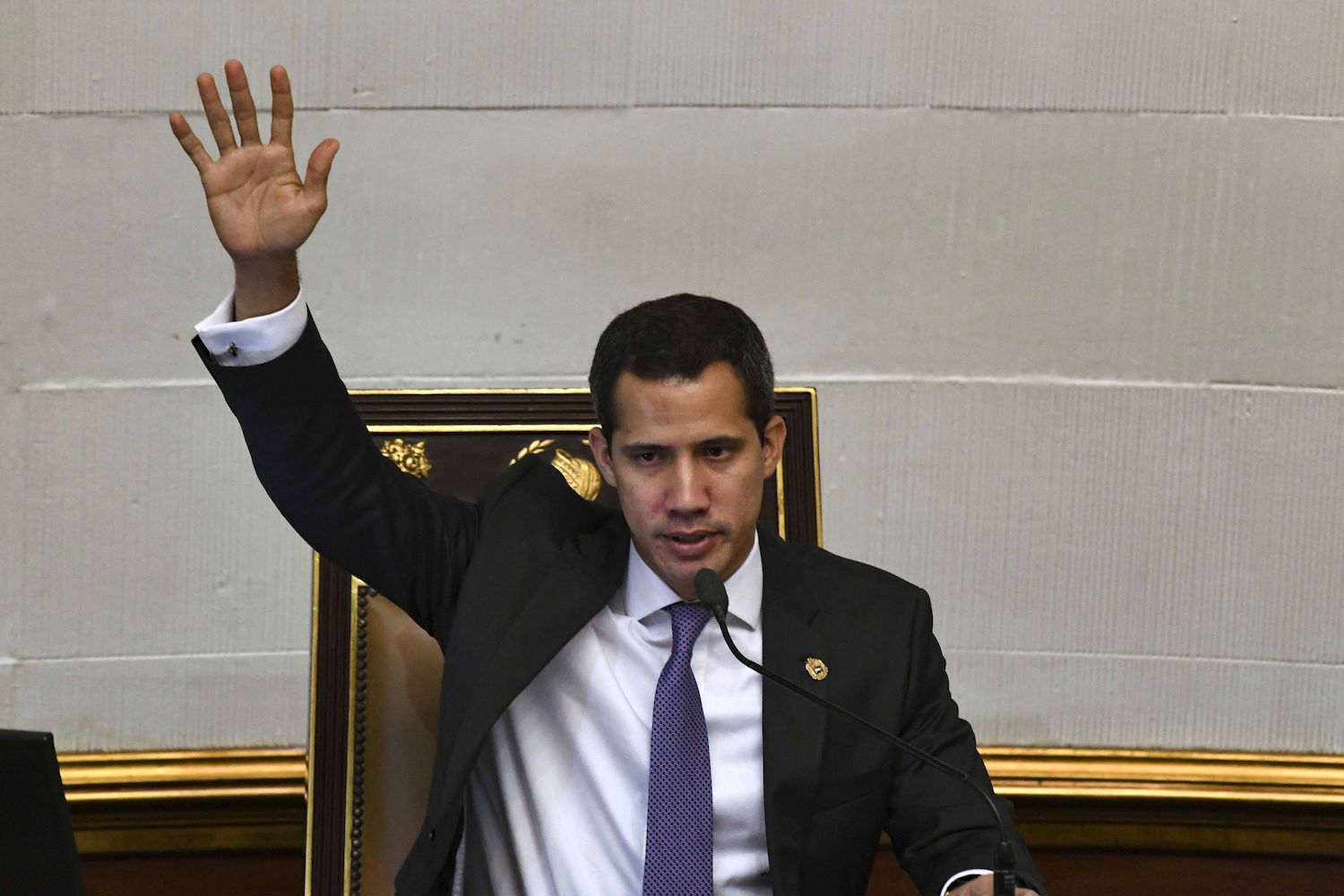 Guaidó plans to go personally to the UN General Assembly