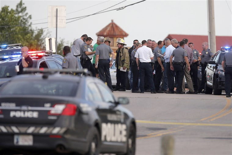 Gunman opens fire in restaurant, is shot dead by bystanders