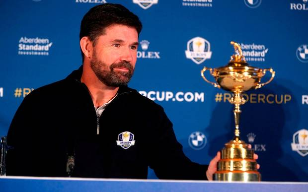 Harrington claims Ryder Cup place