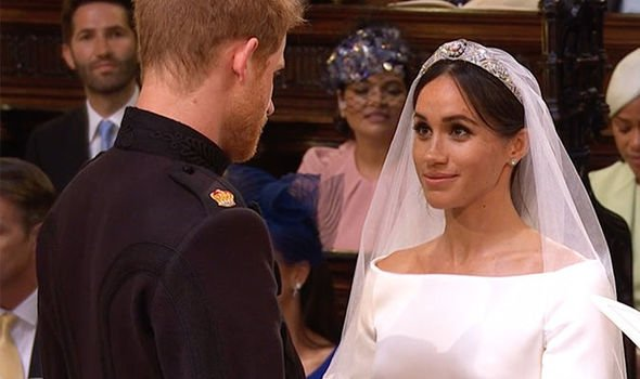 Harry and Meghan exchange vows