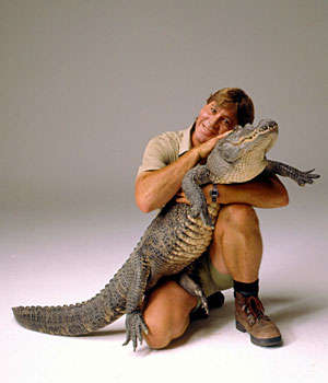 Heroism or just a croc?