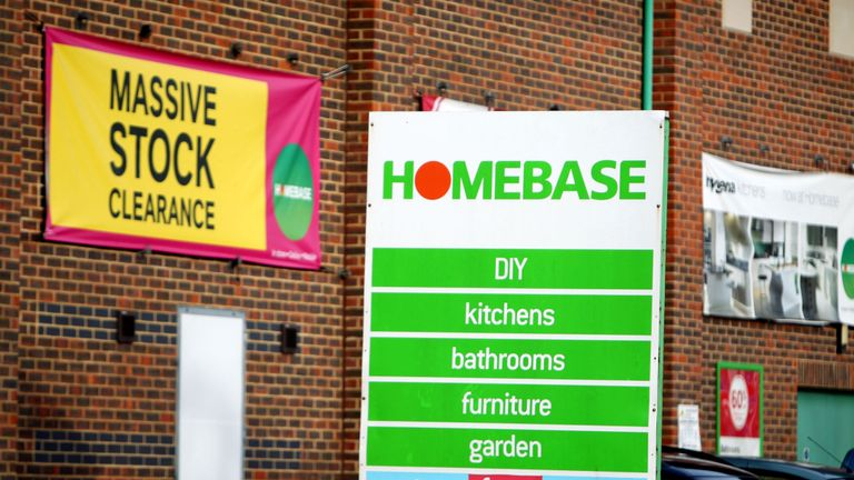 Homebase sold to owner of HMW for £1