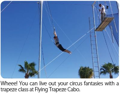 How do you learn trapeze if you're blind?